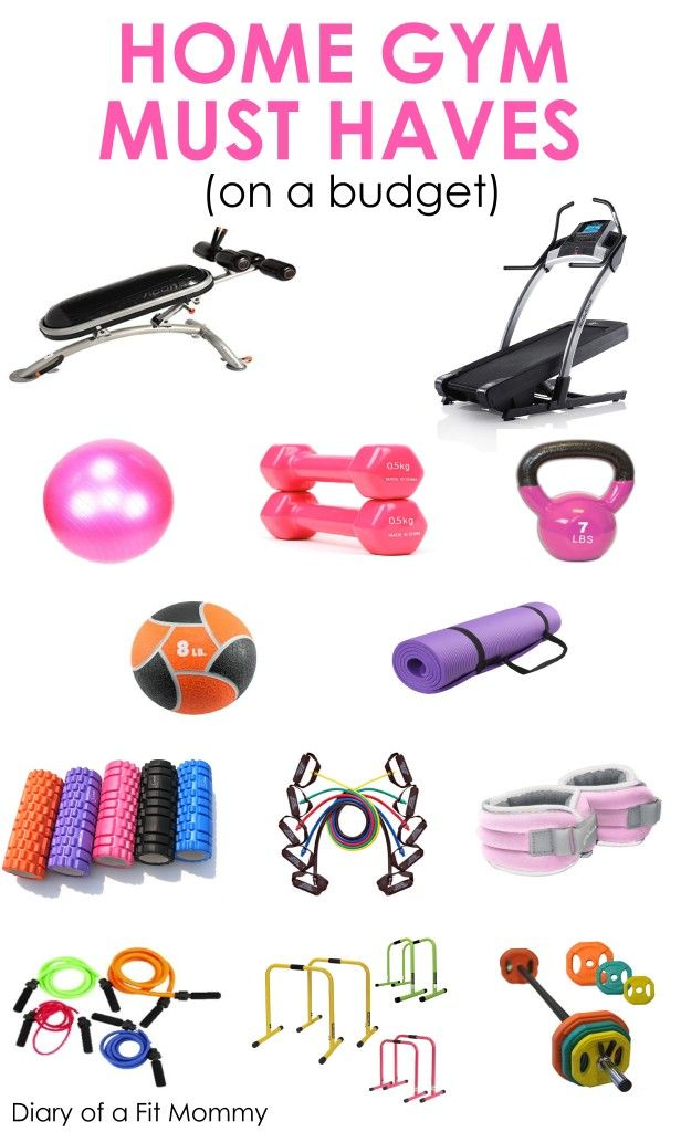 Home gym must haves the can be a blessing for