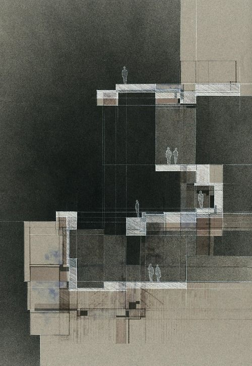Uf D3 Conceptual Section Pencil And Acrylic Paint On Art Paper 18x24 Architecture Drawing Diagram Architectural University Of Liverpool Dissertation Guidelines Guideline