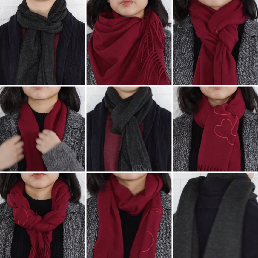 5ce54cb0f 9 Classy Ways To Wear A Winter Scarf #winter #fashion #scarfh ...
