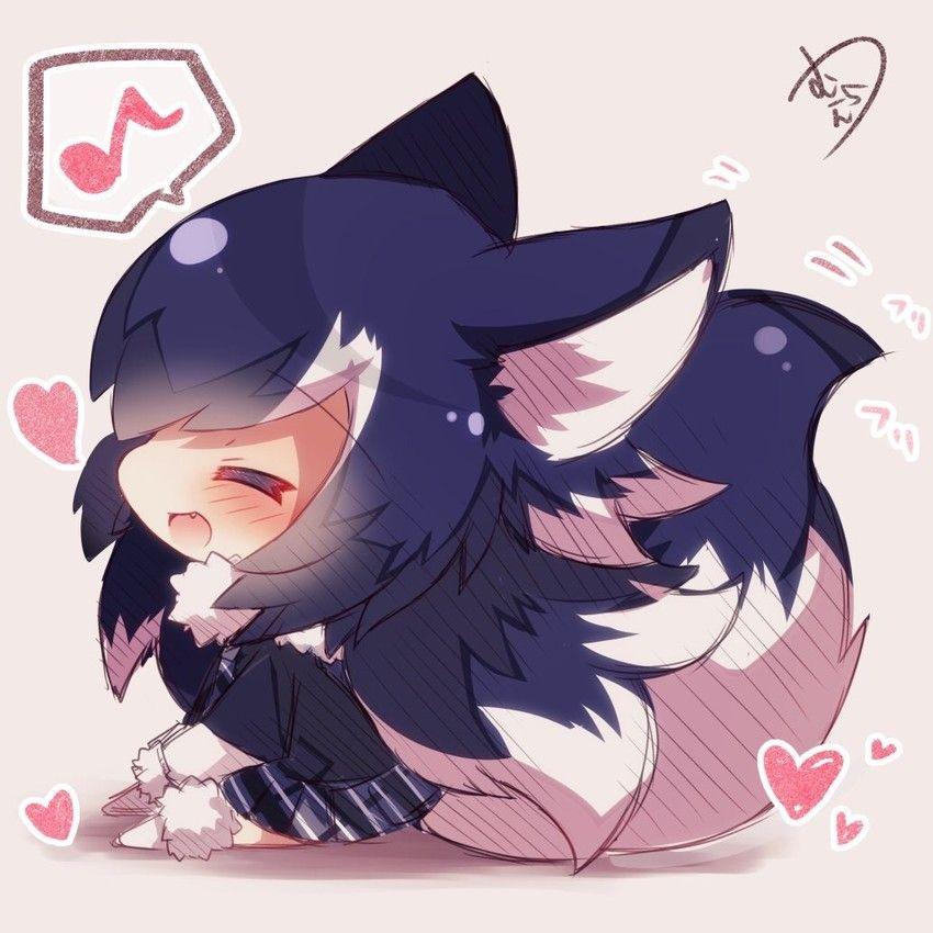 Cute Chibi Anime Wolf Girl Anime Wallpapers