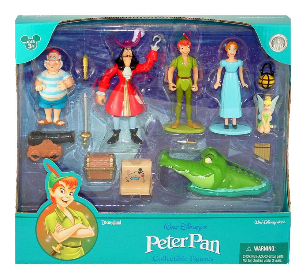 Disney World Parks Peter Pan Tinkerbell 14 Pc Cake Topper