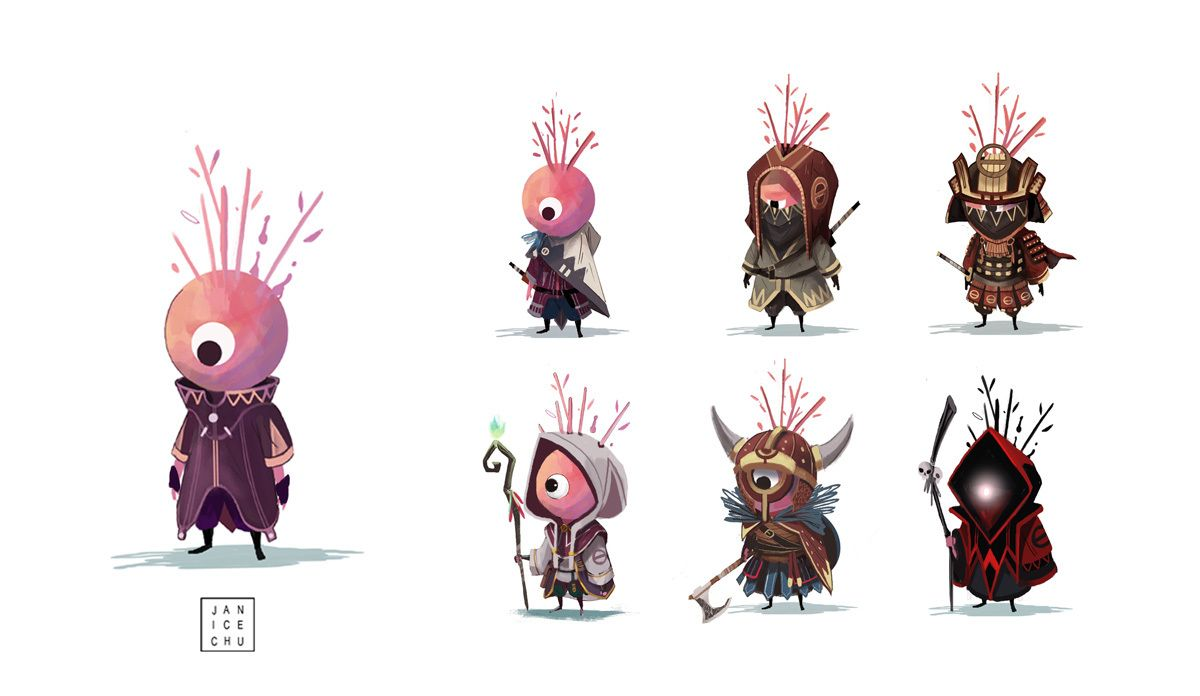 Game Character Concept Design : How video game concept artist janice chu finds inspiration