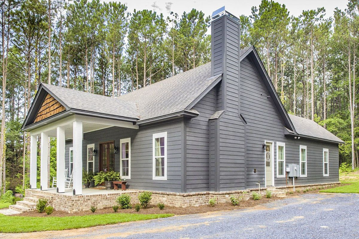 Plan 86339hh Storybook Bungalow With Large Front And Back Porches Country Home Exteriors House Plans Architectural Design House Plans