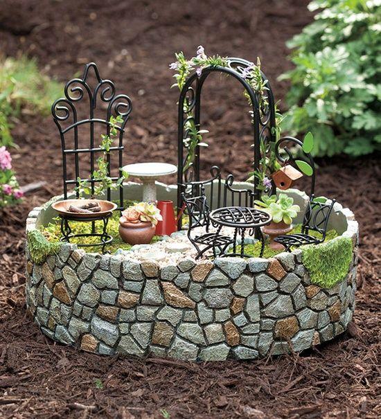 Miniature Garden #miniatures