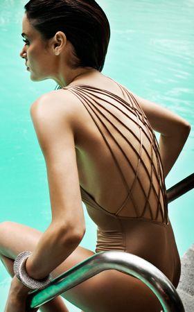 Poppy Lattice One Piece Swimsuit   by Zimmermann Swimwear