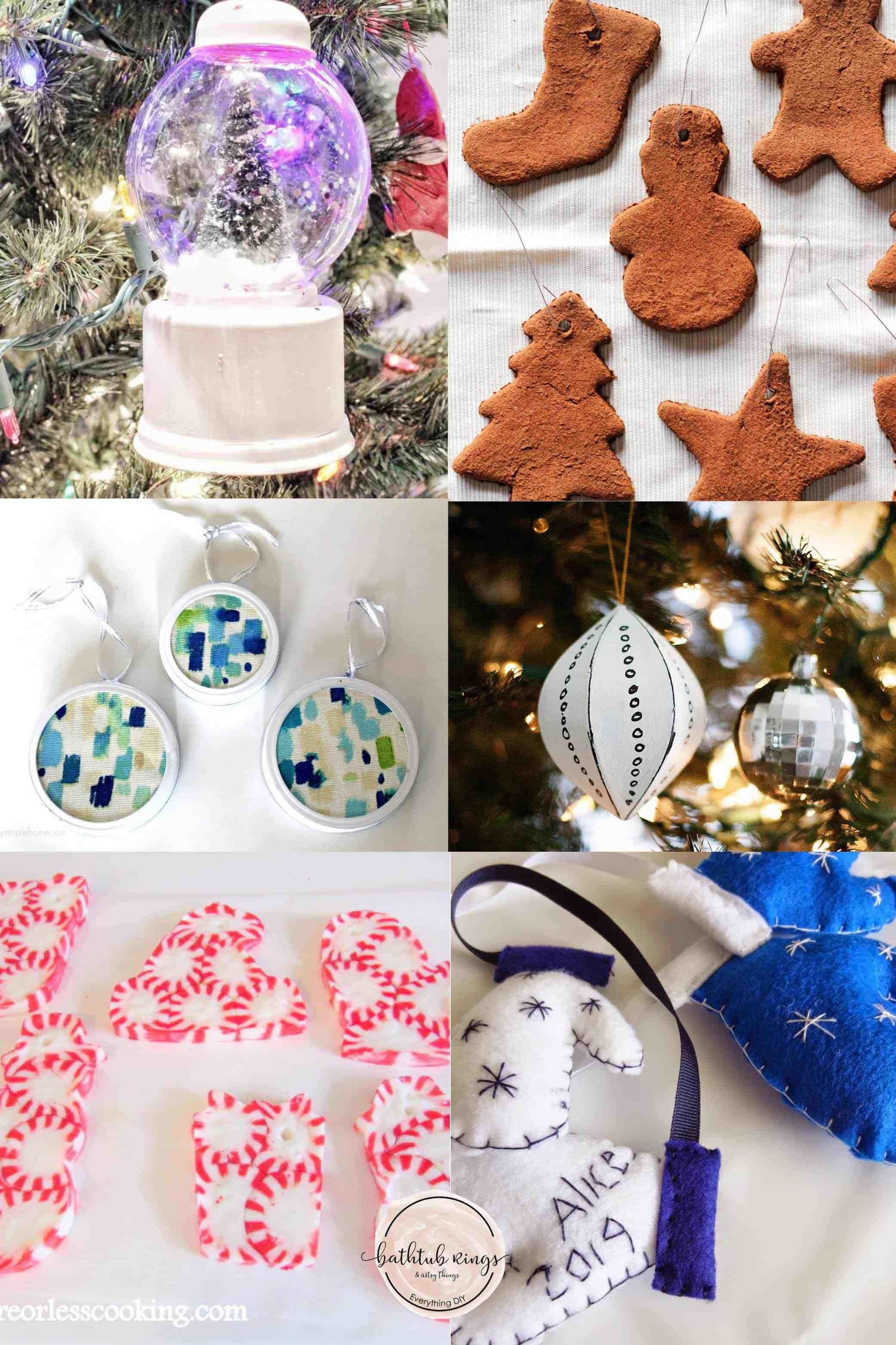 52 Amazing Handmade Christmas Ornaments That You Can Make Handmade Christmas Diy Christmas Ornaments Handmade Christmas Ornaments