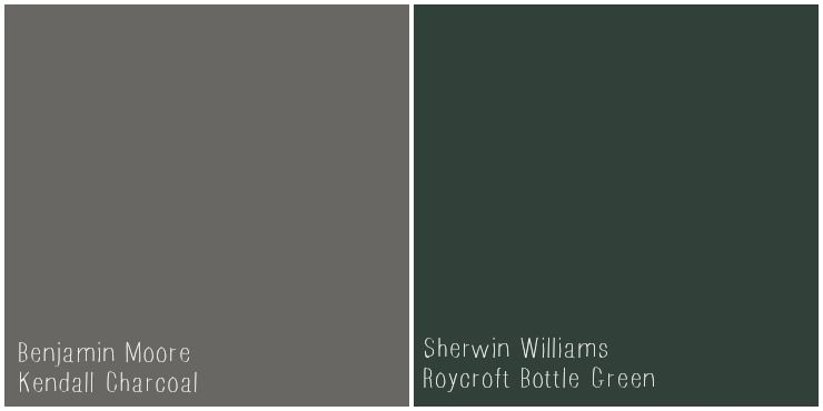 Benjamin Moore Kendall Charcoal Roycroft Bottle Green Darker Colors For Exterior But Love The Neutral Warmth Of This Gray Paint Creative