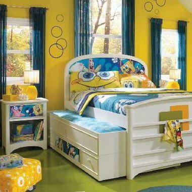 SpongeBob kids room, perfect for Hunter!