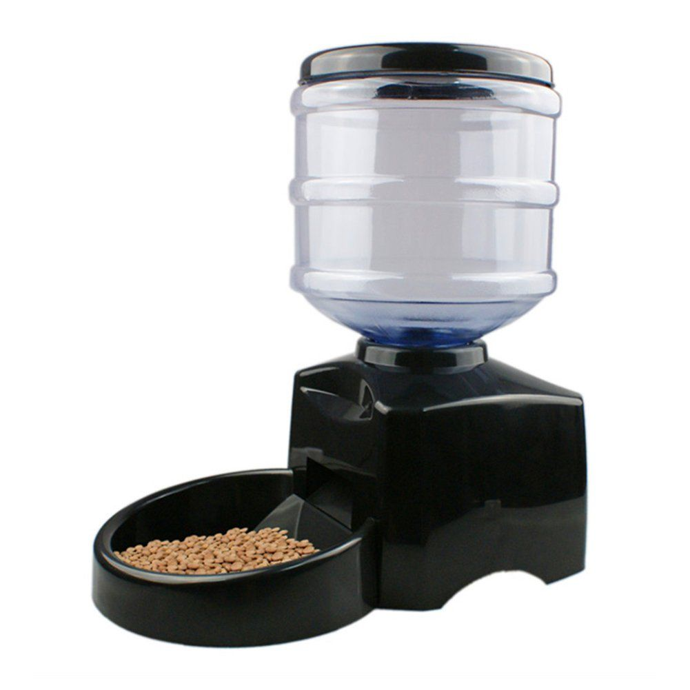 Dog large automatic pet feeder electric pet dry food
