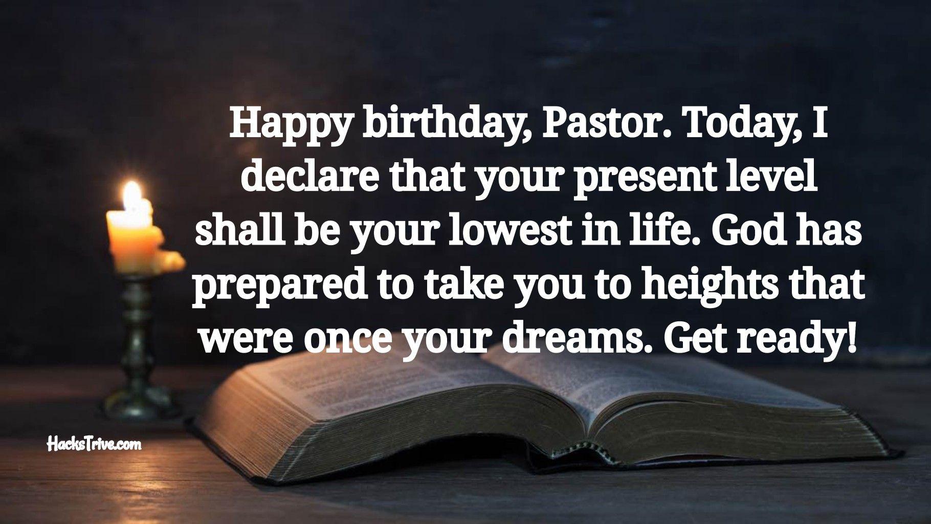 Best Birthday Wishes For Pastor Happy Birthday Pastor Best Birthday Wishes Inspirational Humor