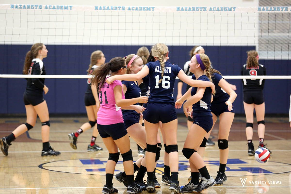 Check Out The Nazareth Vs Marist Photo Volleyball Sophomore 16 V