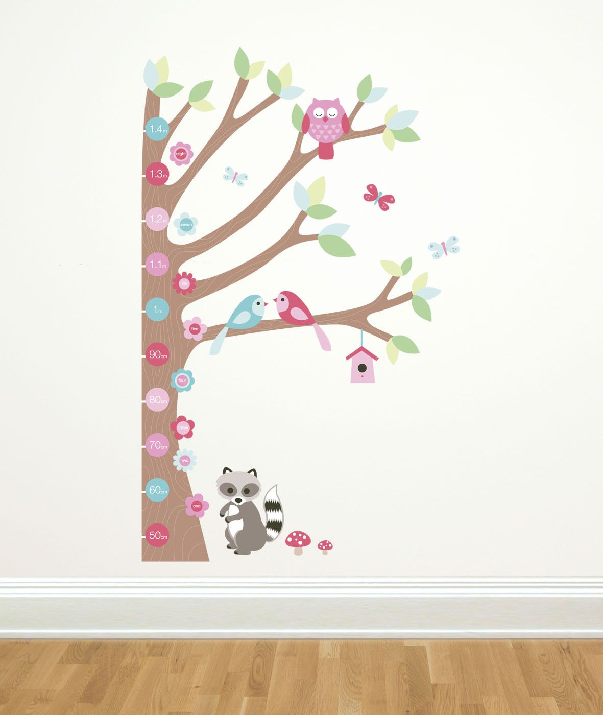 Forwalls Forest Growth Nursery Wall Stickers Maternity Baby - Nursery wall decals ireland