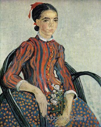 Portrait of a Girl La Mousme 1888