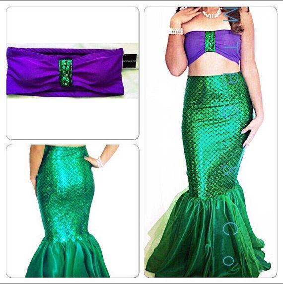 ariel little mermaid adult costume