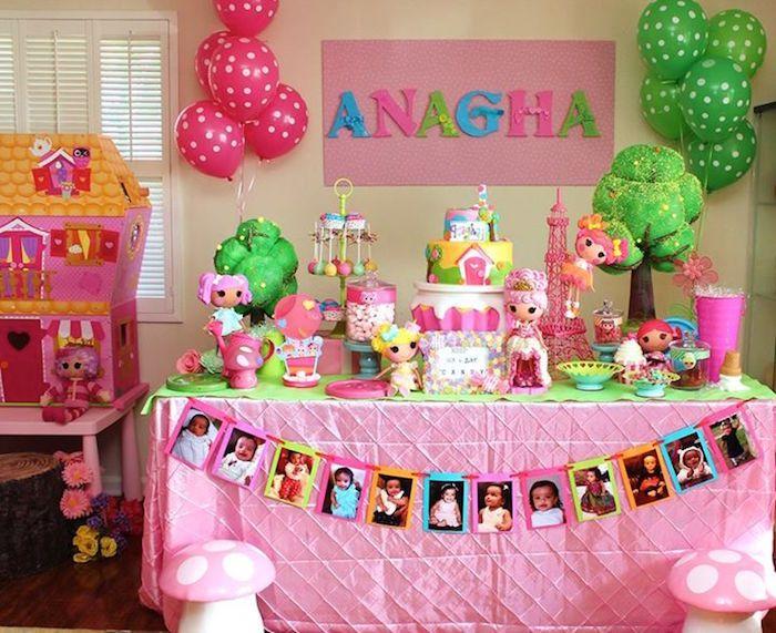 Sew Cute Lalaloopsy Birthday Party via Karas Party Ideas