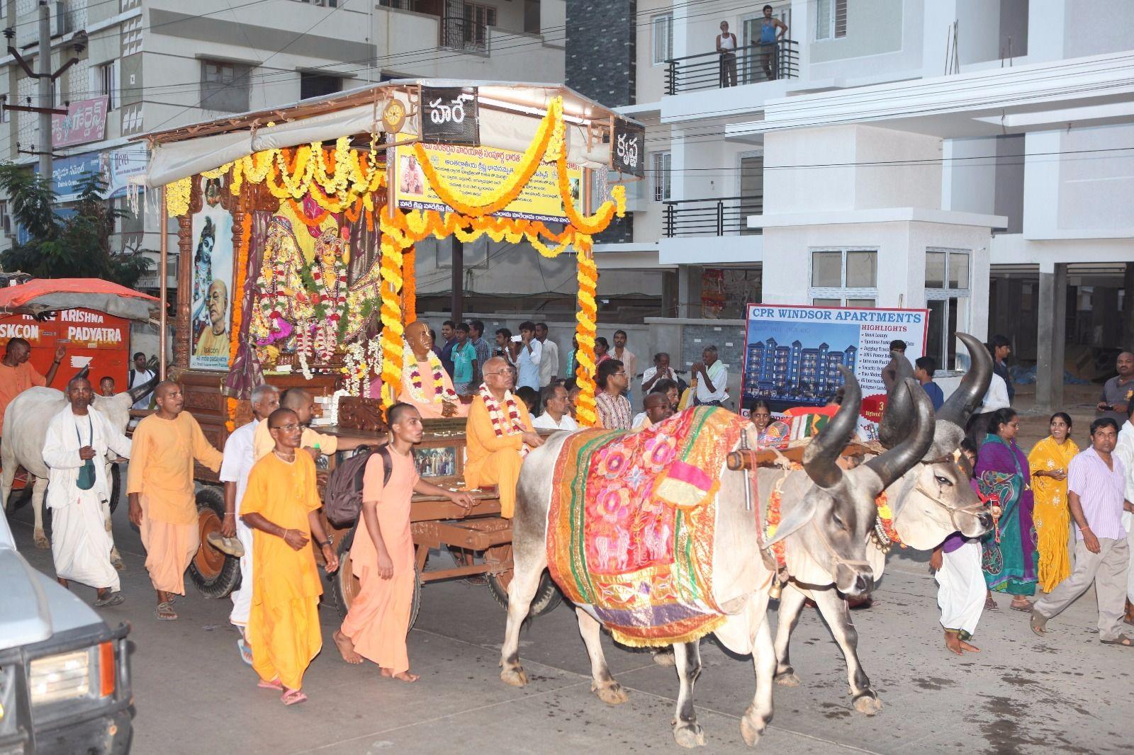 All India Padayatra arrives at Tirupati