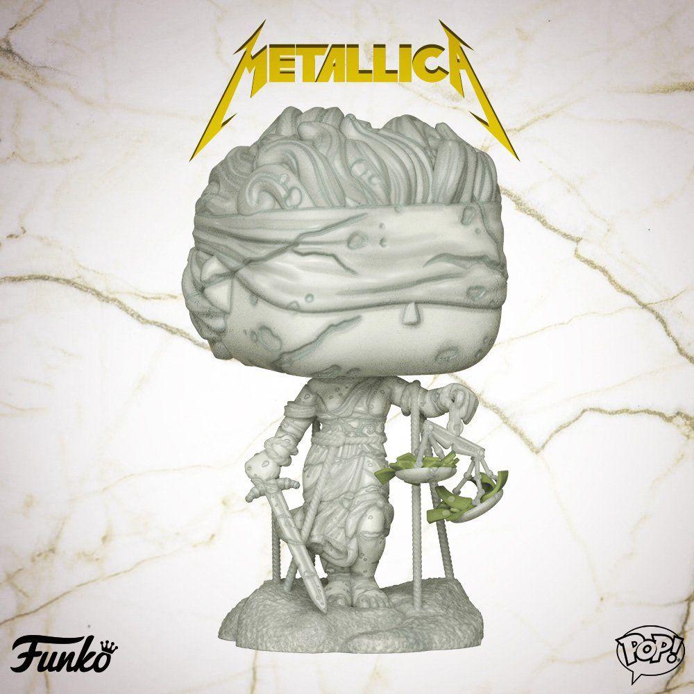 3c4cdcb240a Metallica Lady Justice Funko Pop! Vinyl Figure  metallica  funkopop ...