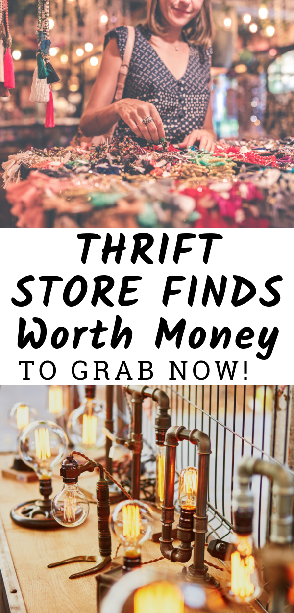 Thrift Store Finds Worth Money You Don't Want to Pass Up #thriftstorefinds