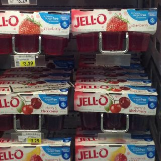 weight watchers points for sugar free jello
