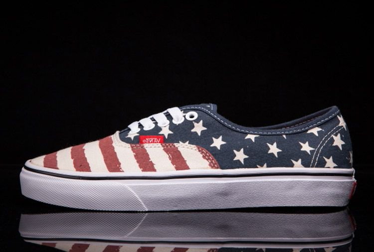 fc6823ab18 Vans American Flag Stripes Stars Skateboard Shoes  Vans15  -  43.94   Vans  Shop