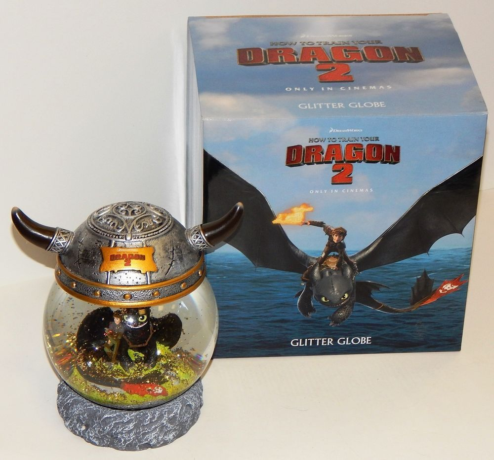 How to train your dragon 2 glitter snow globe promotional item rare how to train your dragon 2 glitter snow globe promotional item rare in dvds films ccuart Image collections