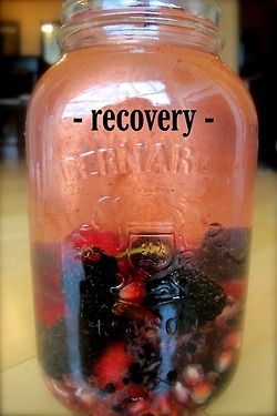 Different flavored/vitamin water recipes...