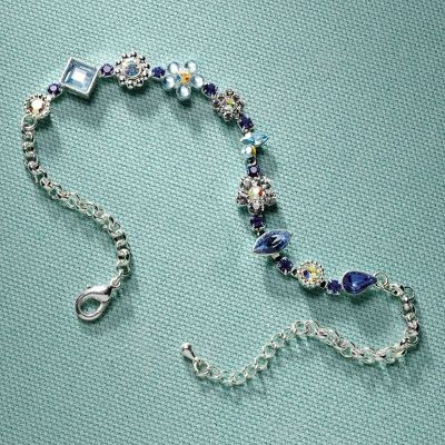 Something Blue Anklet for the Bride | Bridal Accessories