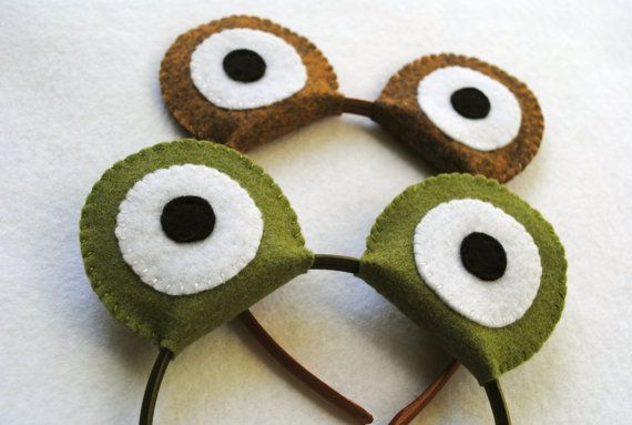 how to make a frog headband