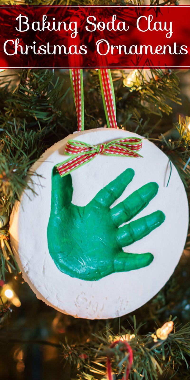 Diy Baking Soda Clay Ornaments Posh In Progress Ornaments Diy Kids Baking Soda Clay Christmas Ornaments