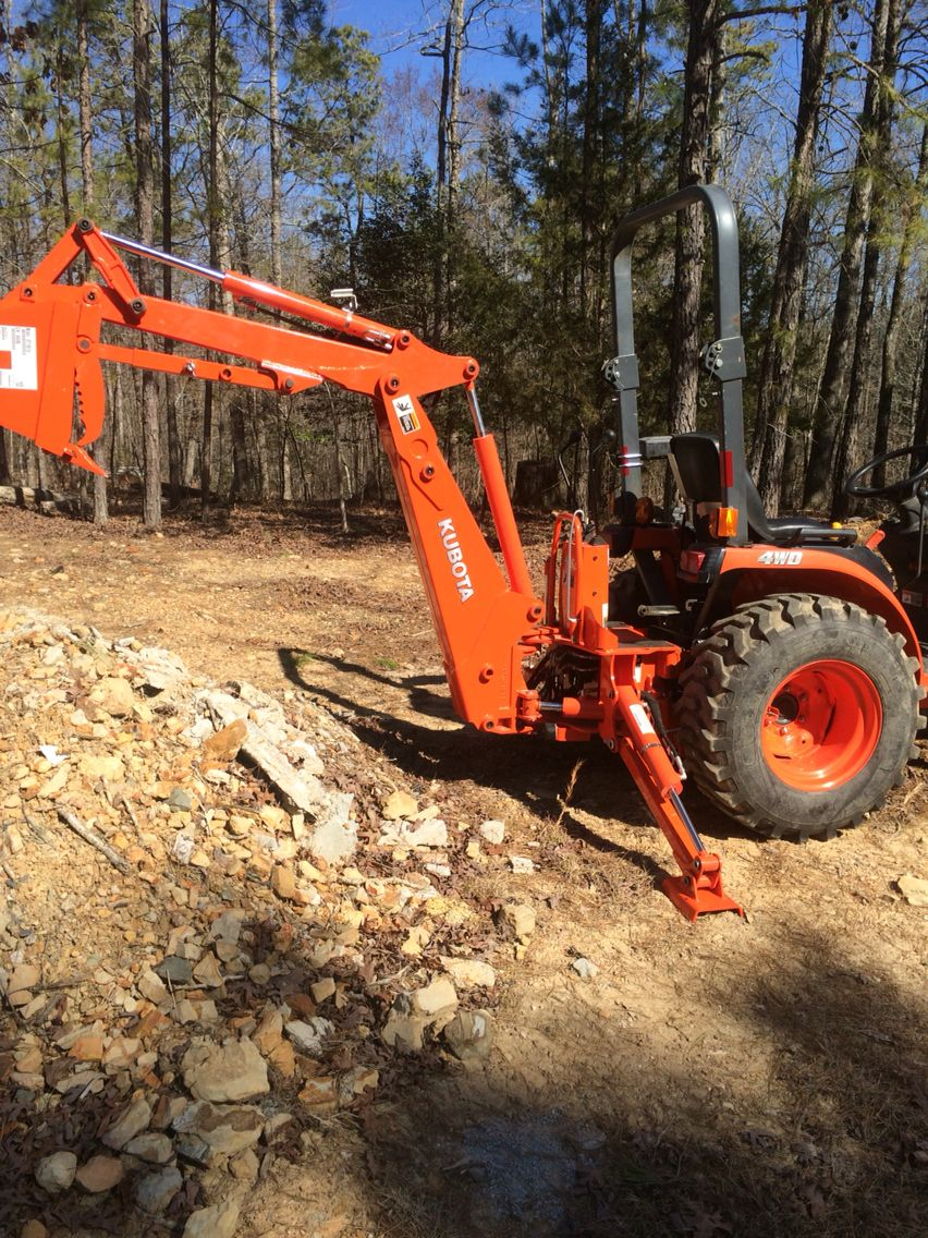 Added backhoe   Farm products   Pinterest   Tractor