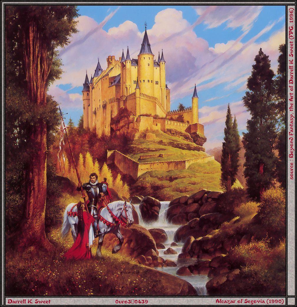 Мой, картинки о рыцарях и замках