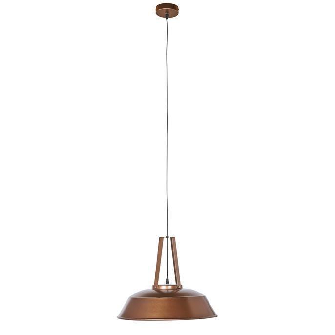 metalen hanglamp jason met industrià le look voorzien van een