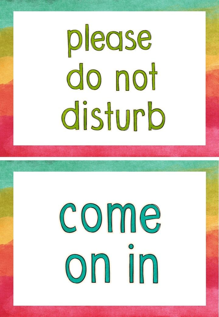 Please Do Not Disturb Sign Printable : please, disturb, printable, Printable, Signs, Freebie, Signs,