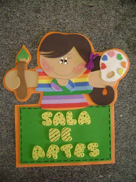 Plaquinha Para Sala De Artes Ou Artesanato R 25 00 Eva