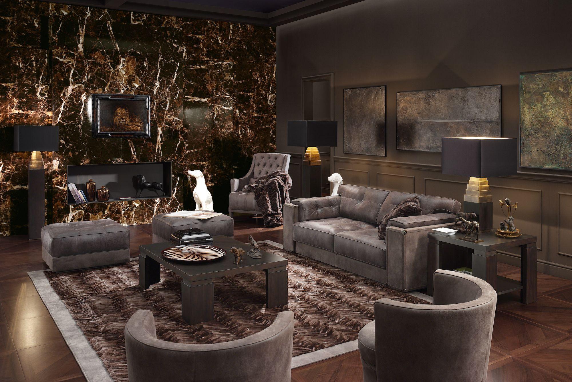 Smania livingstone230 sofa teorema coffee tabl exhibit for Arredamento artistico