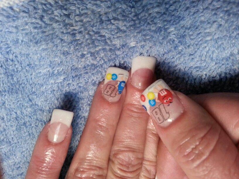 Kyle Busch #18 nascar nails - Best 25+ Nascar Nails Ideas On Pinterest Racing Nails, Checkered