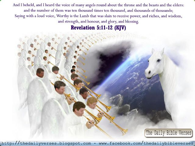 Revelation 5 11 12 With Images Revelation 5 Bible Quotes