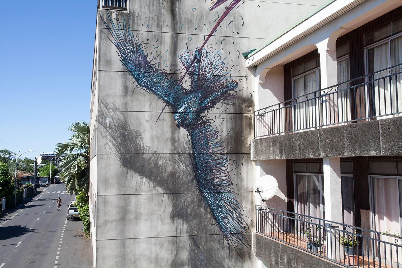 by Daleast Dust in Tahiti for the ONO'U Festival Street