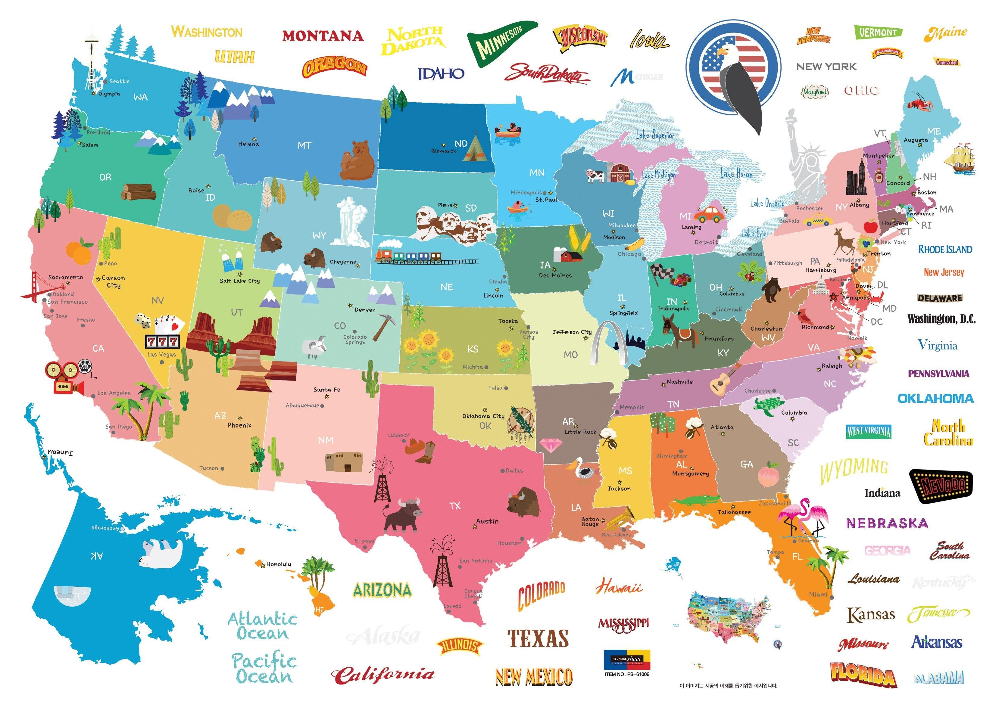Resultat De Recherche D Images Pour Carte Etat Unis Enfant