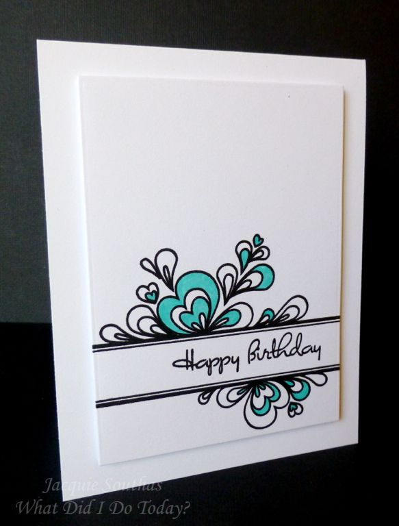 Quilled Elegance Birthday Card Birthday Cards Inspirational Cards Simple Cards