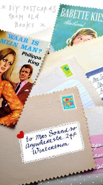 DIY postcards (or who will make Vera Happy?)