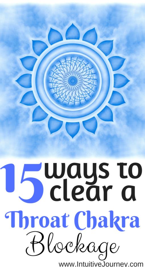 15 Ways to Clear a Throat Chakra Blockage | Reiki • chakras
