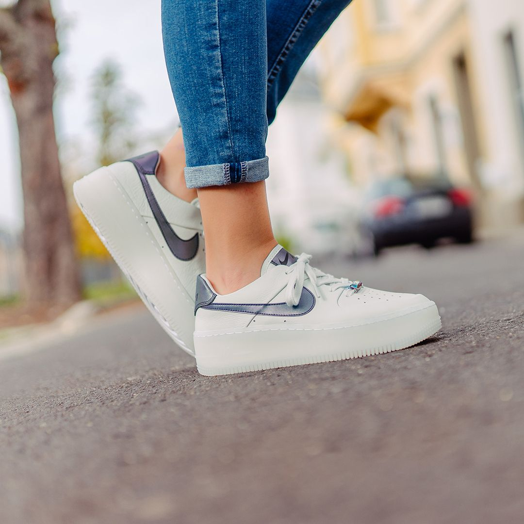 Wmns Air Force 1 Sage Low Lx Nike Wmns Nike Air Force Neue Sneaker