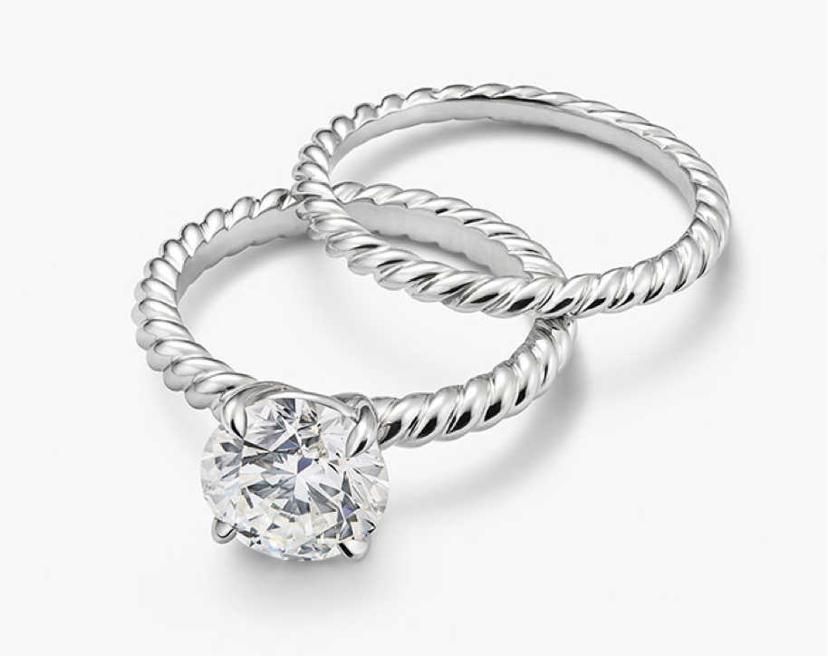 david yurman capri look alike engagement ring - David Yurman Wedding Rings