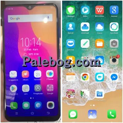 Download Tema Iphone Ios 12 For Vivo Y91 Terbaru Palebog Gambar Tokoh