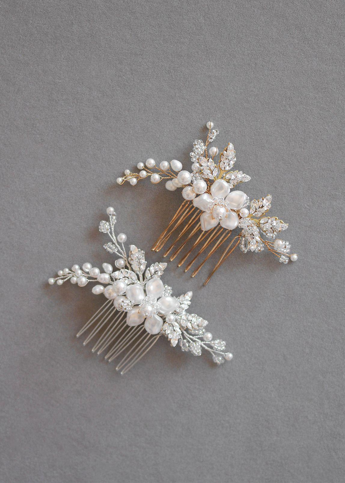 Aries Pearl Bridal Hair Comb Pinterest Hair Combs Bridal Hair