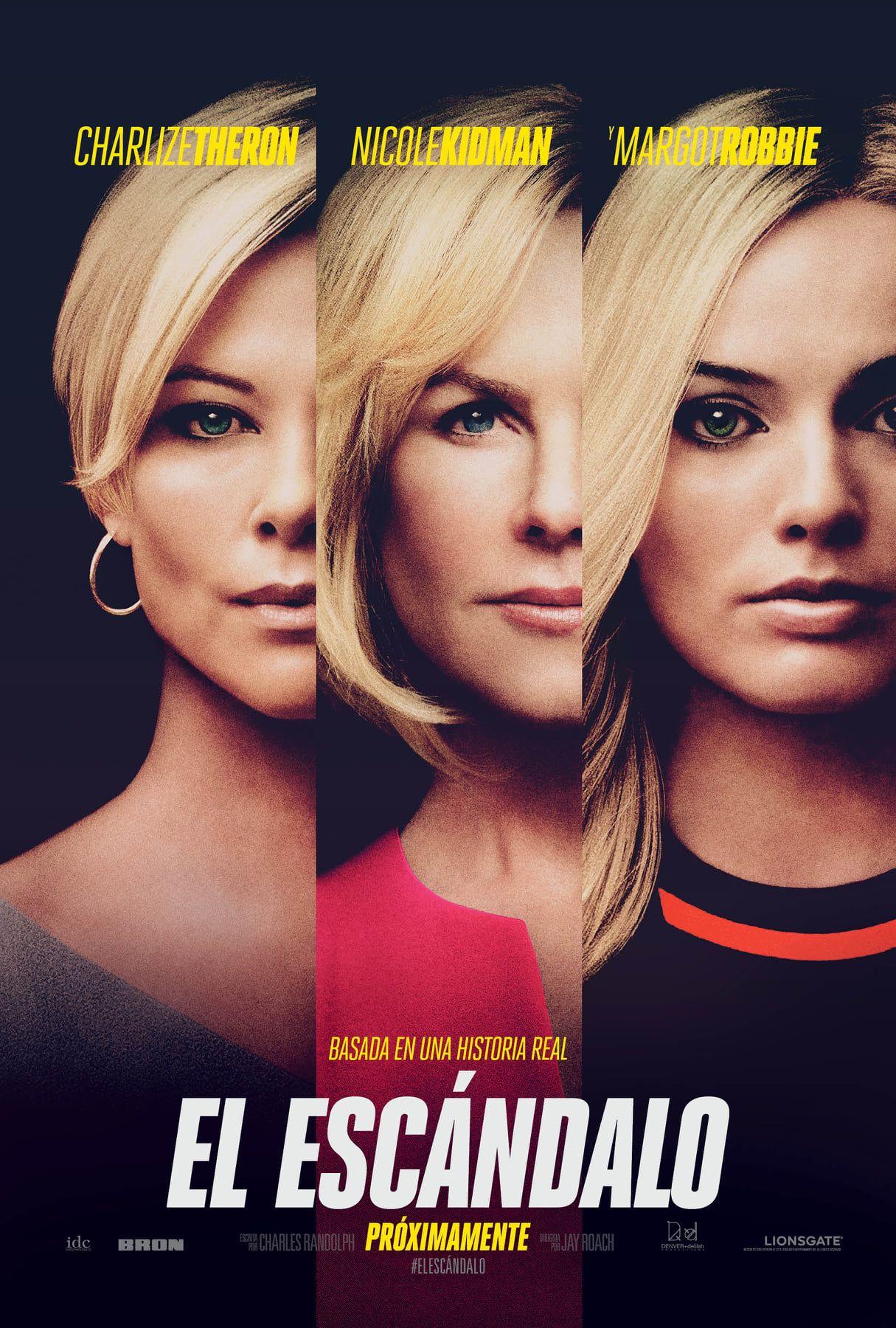 El Escándalo Bombshell Trailer Poster Oficial Ver Peliculas Gratis Películas Completas Películas Gratis