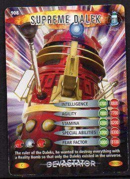 DR WHO DEVASTATOR CARD 1027 ATMOS WORKER 2