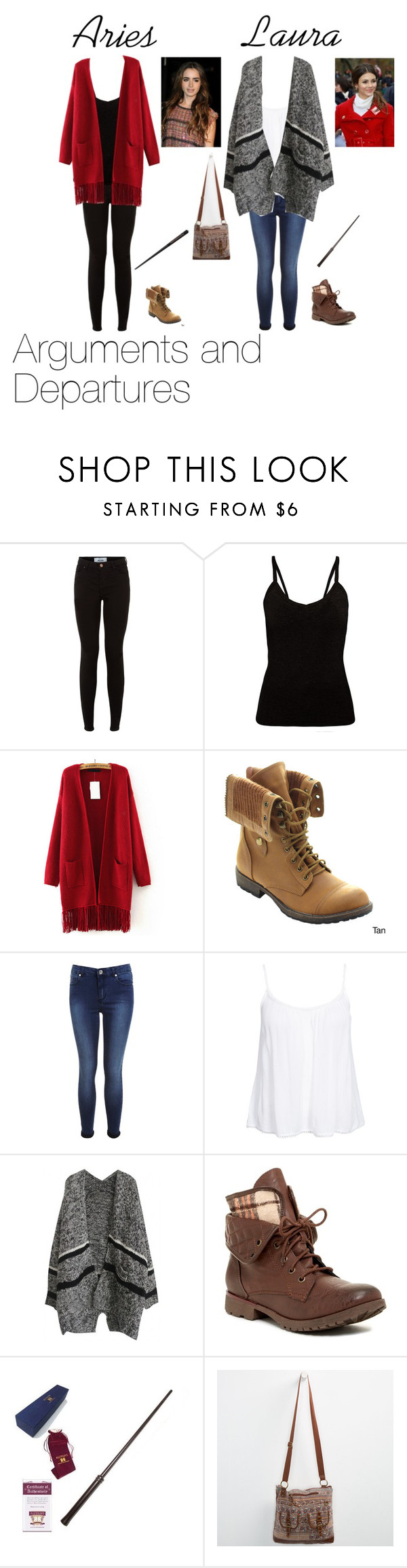 """""""Arguments and Departures"""" by imagineeee ❤ liked on Polyvore featuring New Look, Nature Breeze, Miss Selfridge and Rock & Candy"""