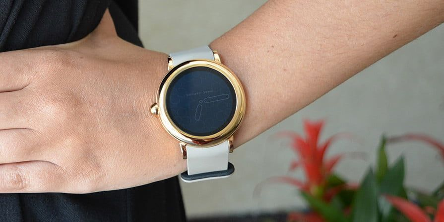 The Marc Jacobs Riley Touchscreen Smartwatch Has An Understated Look But Makes An Impression Smart Watch Mens Accessories Wearable